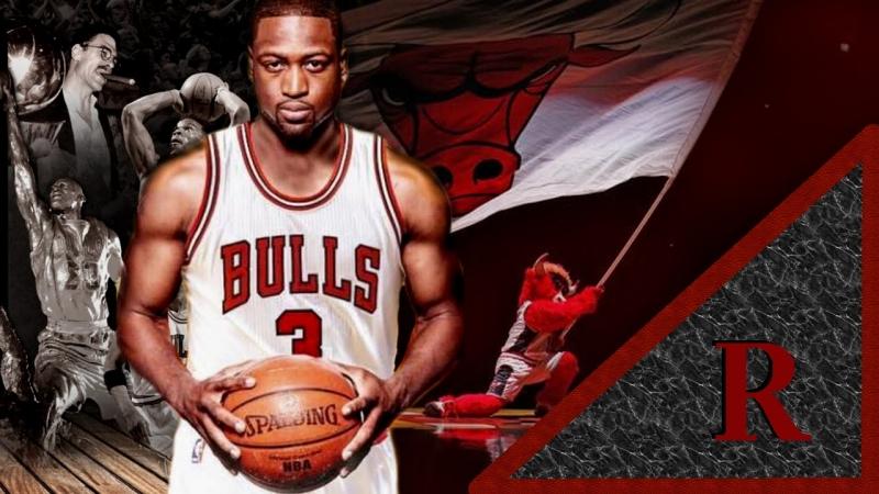Dwyane Wade mới chuyển sang Chicago Bulls
