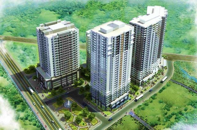 Phối cảnh dự án chung cư E4 Tower Yên Hòa