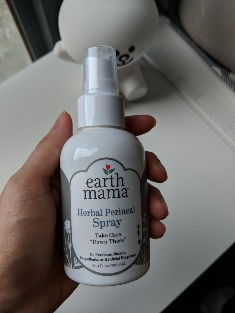 Earth Mama Herbal perineal - Xịt giảm đau vết khâu tầng sinh môn