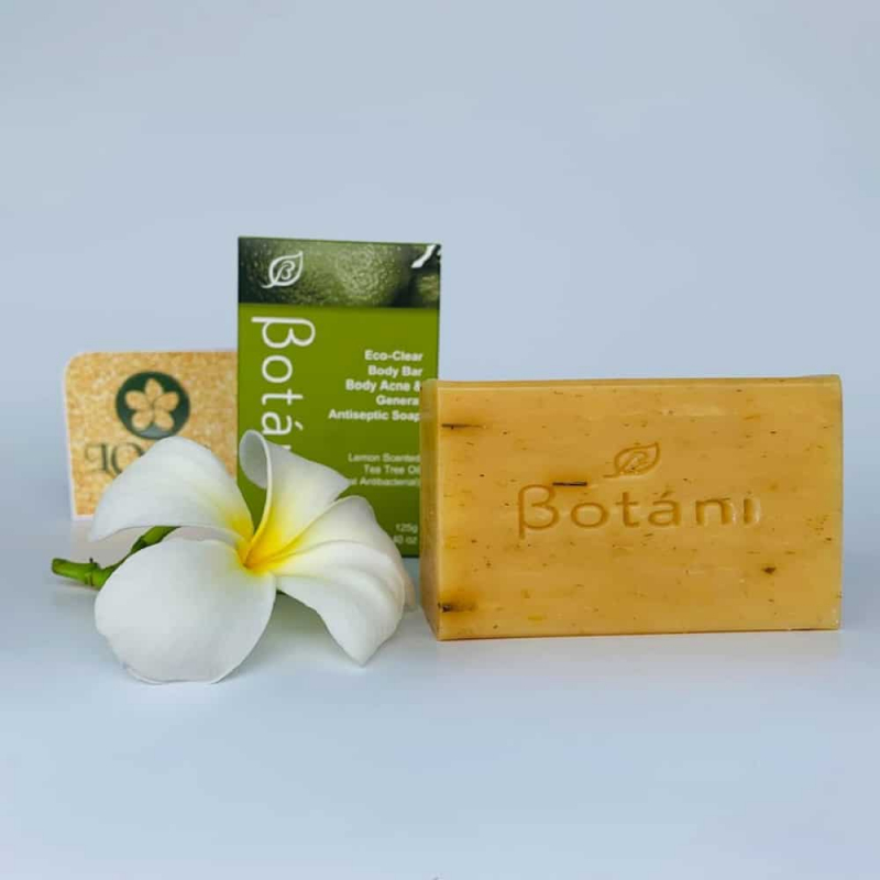 Eco-Clear Body Bar Acne & General Antiseptic Soap Botani