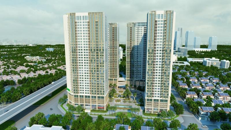 Hình ảnh tổng quan dự án Eco Green City Nguyễn Xiển