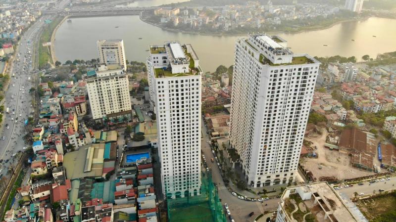 Các căn hộ tại dự án có diện tích hợp lý từ 52 - 106m2 (2 - 3 PN) với giá bán chỉ từ 21 triệu/m2