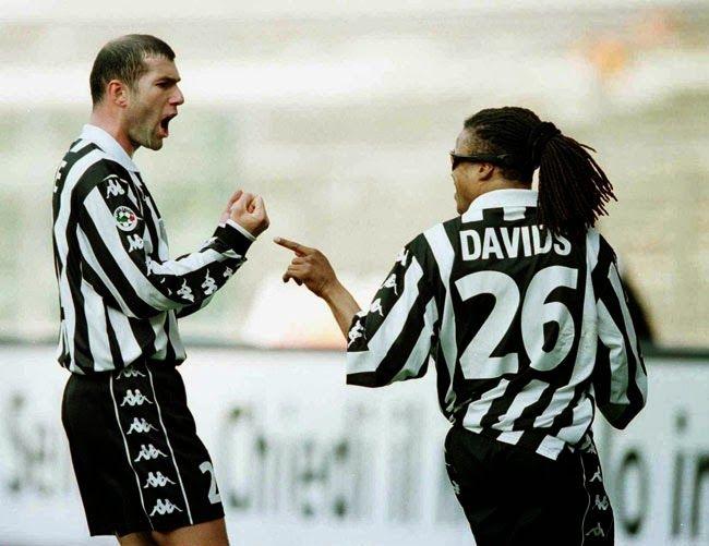 Edgar Davids và Antonio Conte