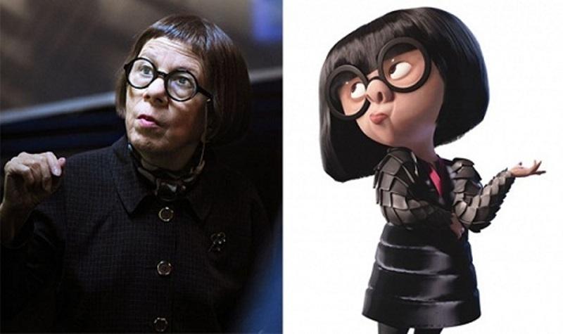 Edna trong phim Gia đình siêu nhân