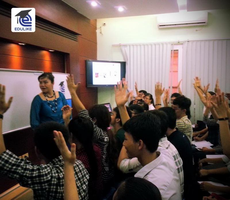 Một buổi hội thảo tại trung tâm