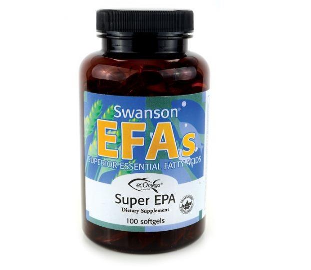 Swanson EFAs giúp bổ sung các dưỡng chất cần thiết cho cơ thể