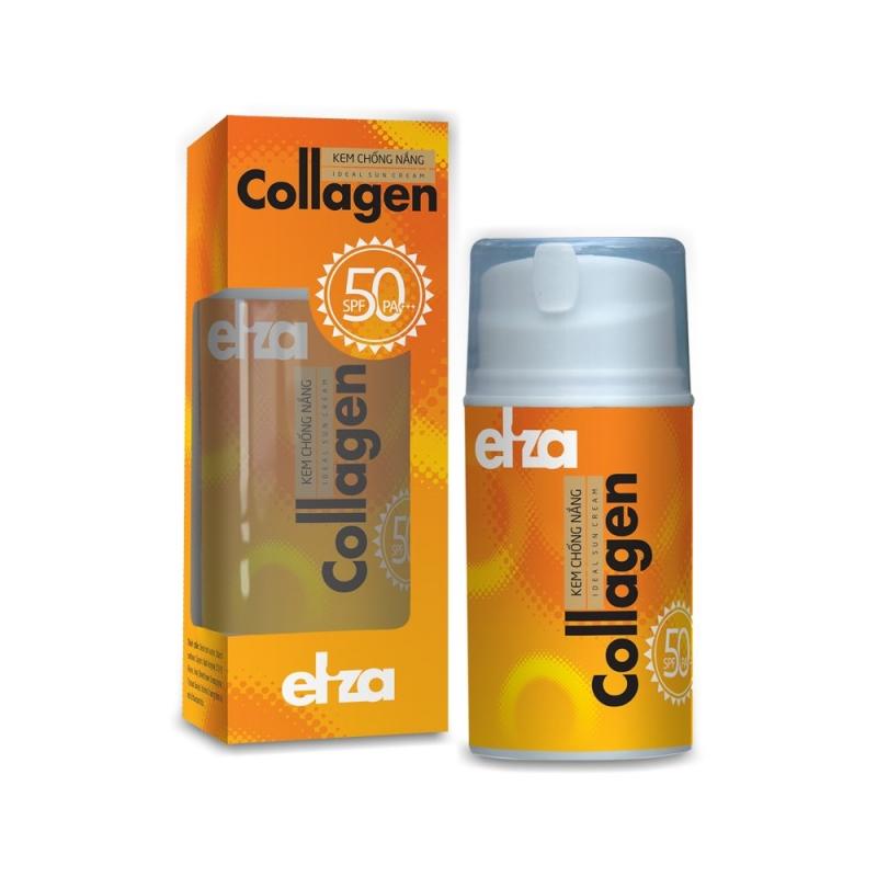 Eliza Collagen SPF 50 PA+++ là kem chống nắng không thấm nước