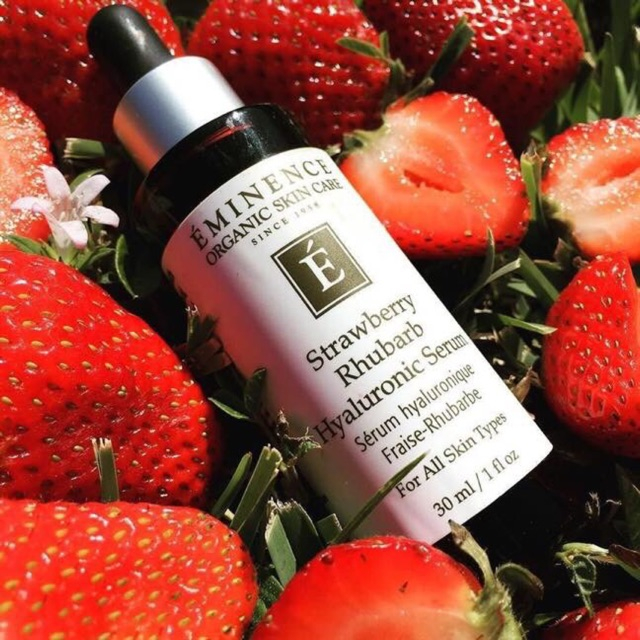 Eminence Strawberry Rhubarb Hyaluronic Serum