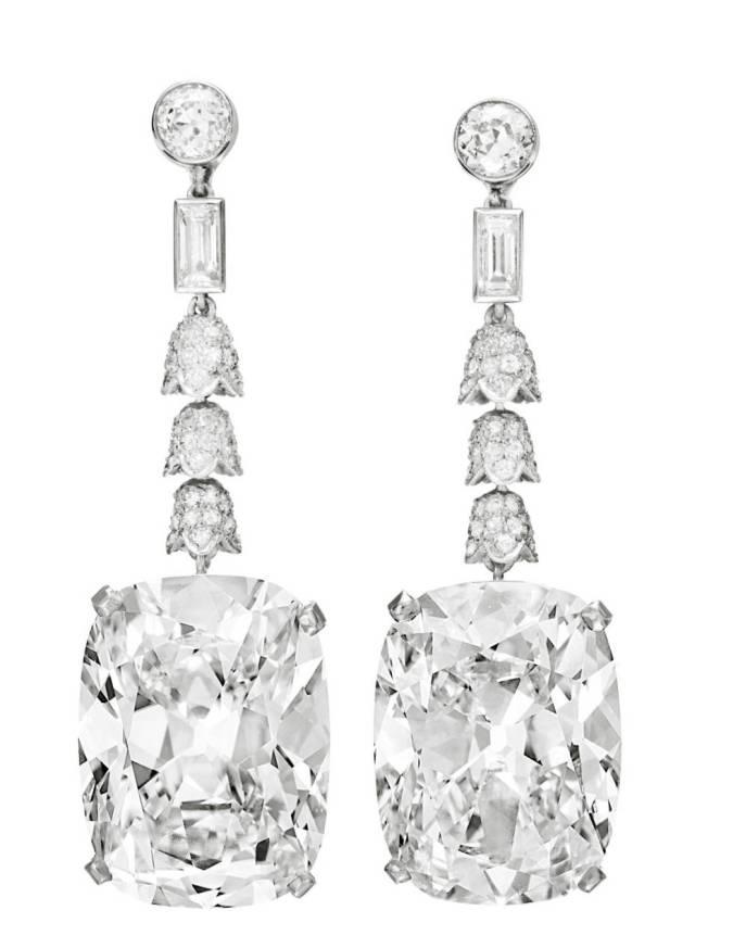 Golconda Diamond Earrings: 9,3 triệu đô la