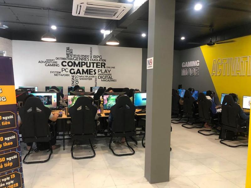 Không gian rộng rãi của Energy Cyber Gaming