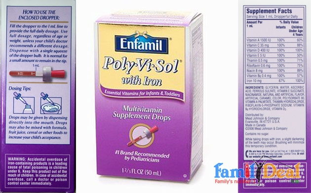 Enfamil Poly Vi Sol with Iron