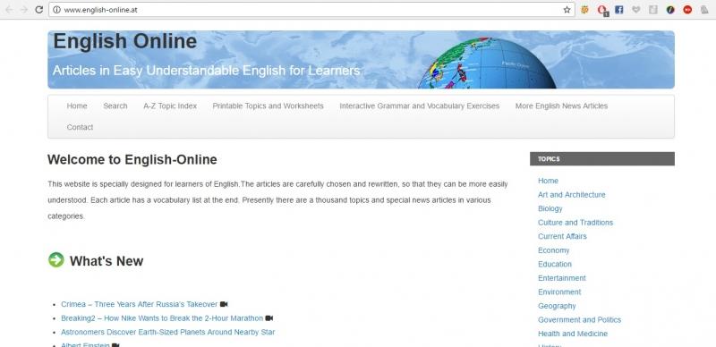 Giao diện trang web