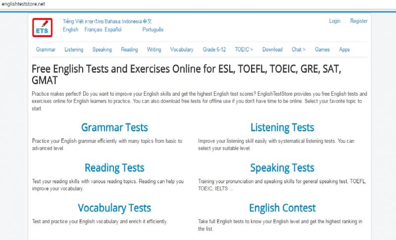 Englishtestore.net