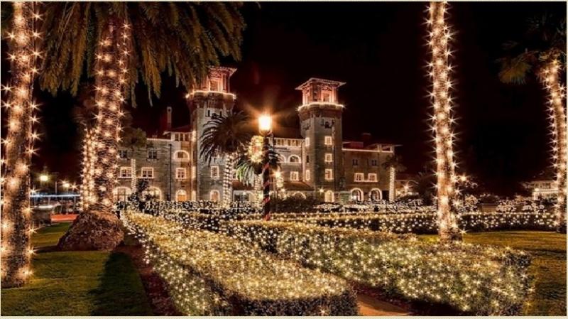Đêm ánh sáng - Khu thương mại St. Augustine