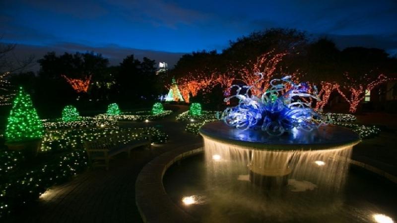 Khu vườn Đèn màu - Vườn bách thảo Atlanta