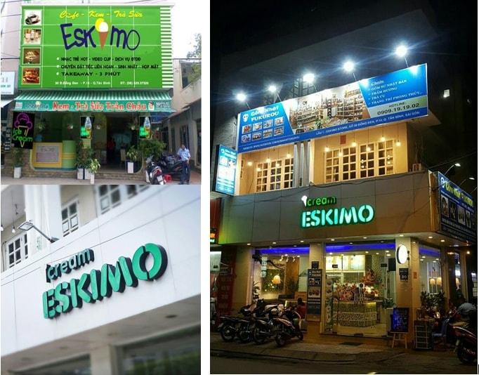 Eskimo 30 Đồng Đen xưa và nay