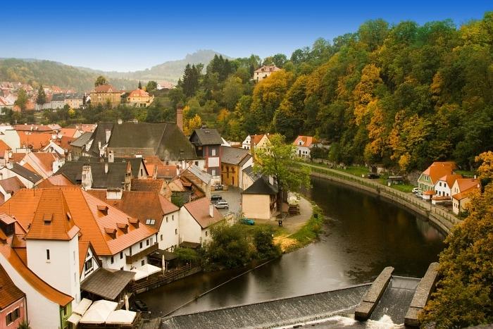 Thành phố du lịch Český Krumlov là một viên ngọc quý mà khách du lịch không thể bỏ qua