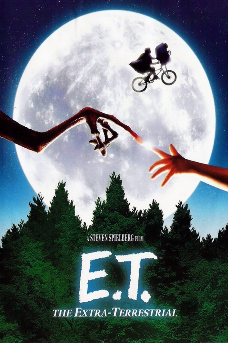 Poster phim E.T. the Extra-Terrestrial