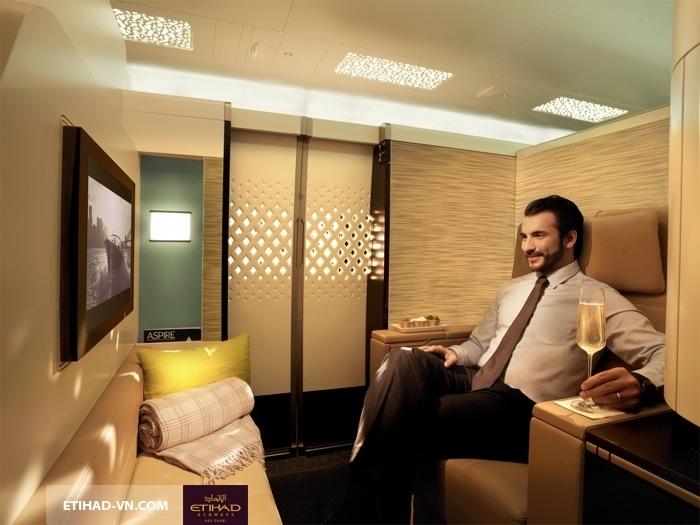 Etihad Airways phục vụ tối đa nhu cầu đa dạng của hành khách