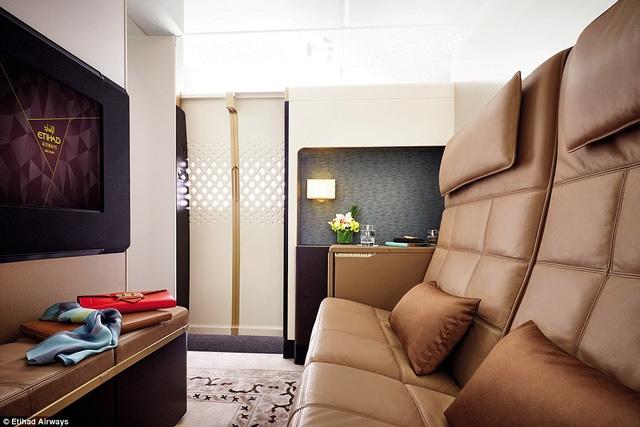 Etihad Airway tập trung phục vụ những khách hàng thượng lưu