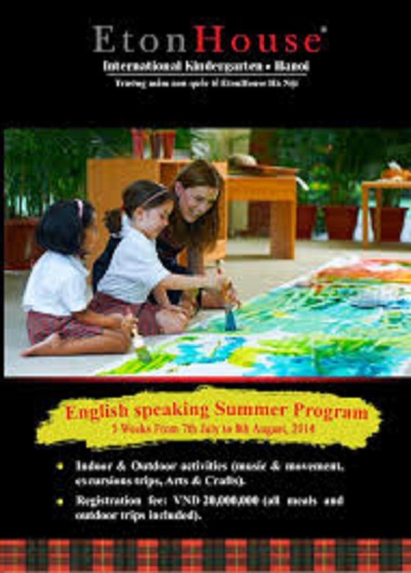 Trường mầm non quốc tế EtonHouse Hà Nội