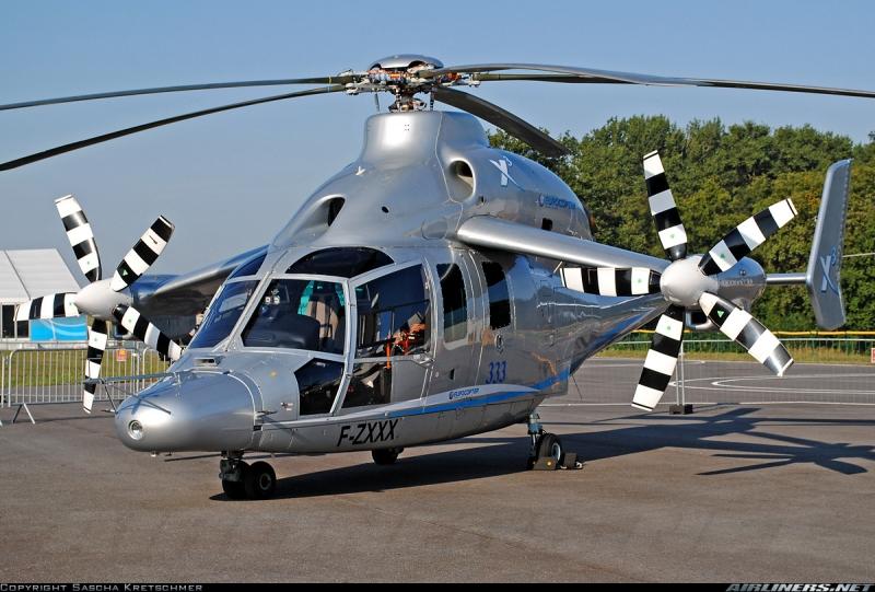 Trực thăng nhanh nhất thế giới Eurocopter X3.