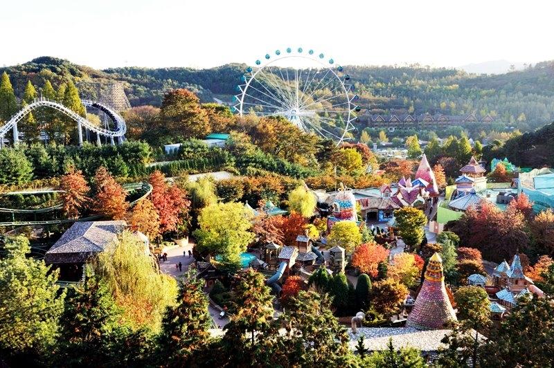 Toàn cảnh Everland Themepark