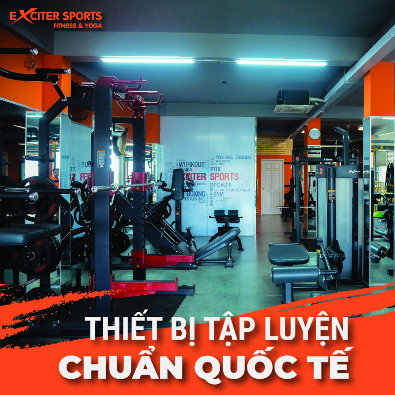 Exciter Sports Fitness & Yoga