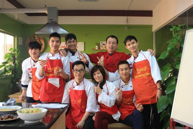 Lớp nấu ăn chuyên nghiệp K60 tại EZcooking