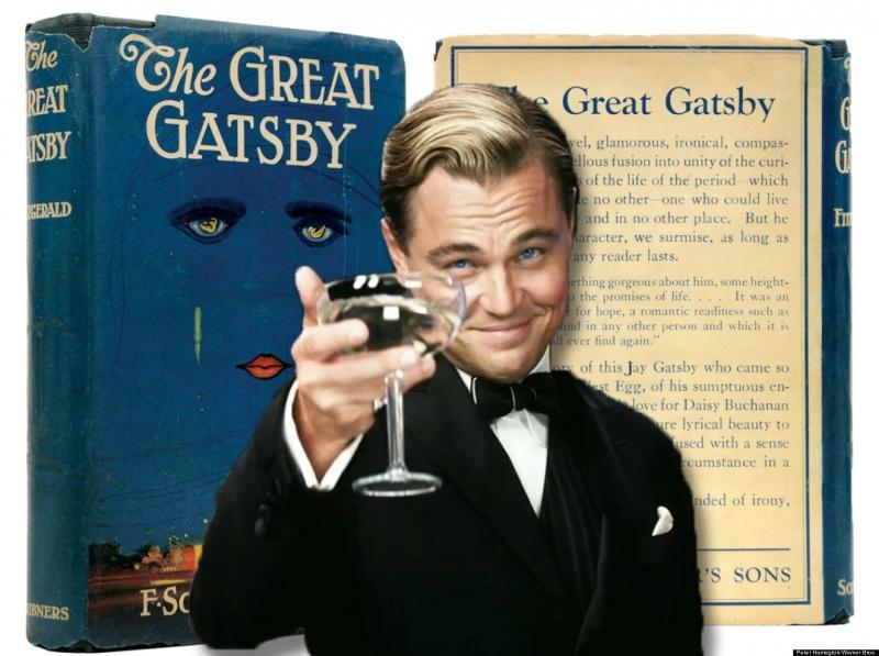 Gatsby vĩ đại được chuyển thể thành phim với Leonardo DiCaprio thủ vai chính