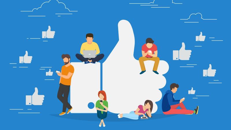 Lượng người dùng đông đảo của Facebook