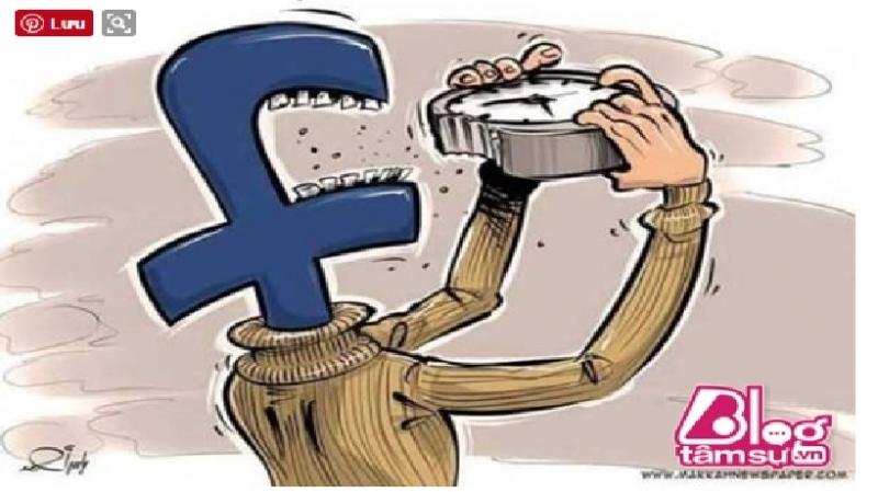 Facebook đang dần ăn mòn thời gian của con người