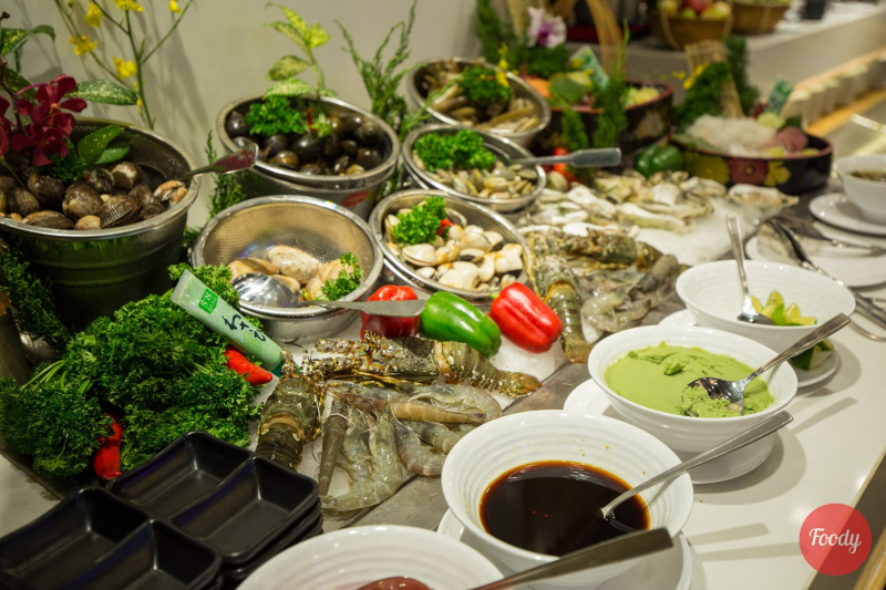 Đây được coi như là một trong những nhà hàng buffet lớn nhất Đà Nẵng.