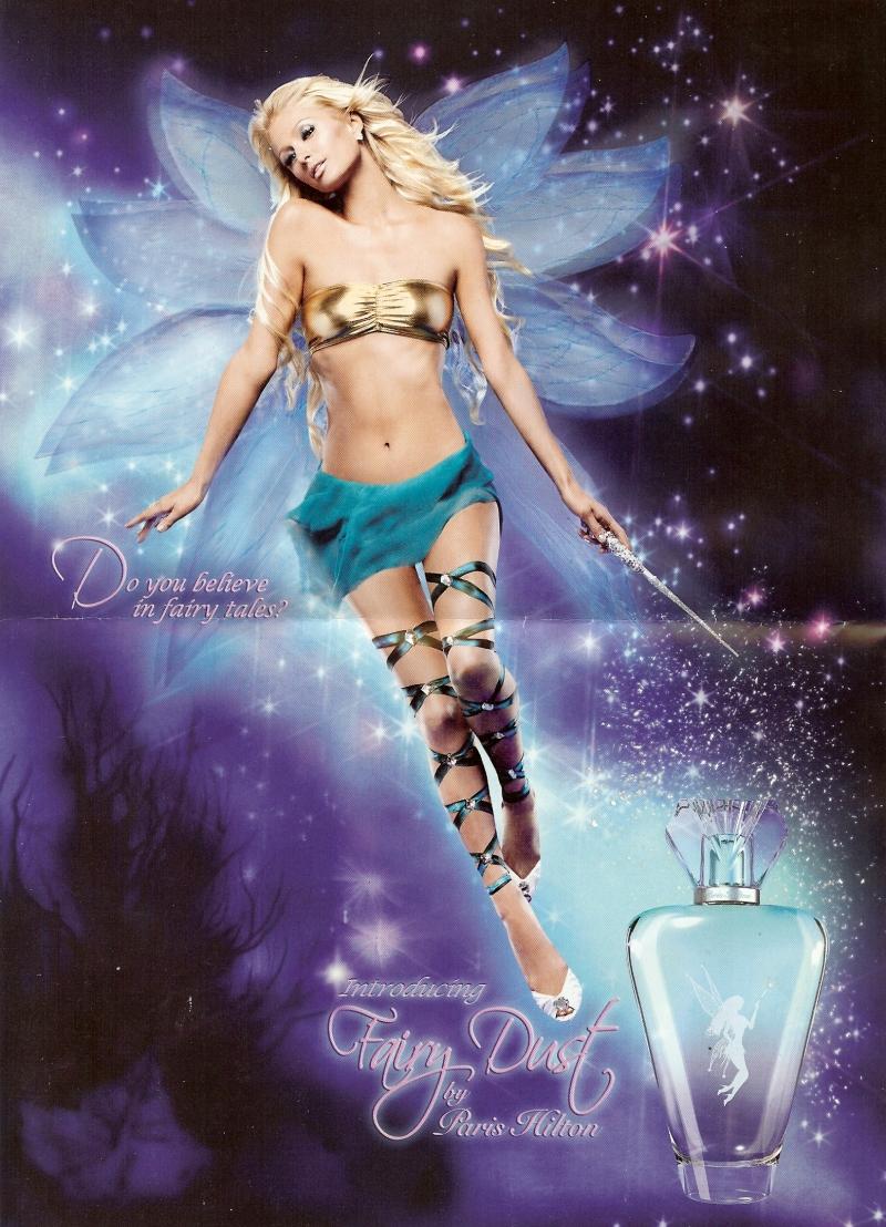 Paris Hilton hóa thân thành nàng tiên xinh đẹp trong poster quảng cáo Fairy Dust