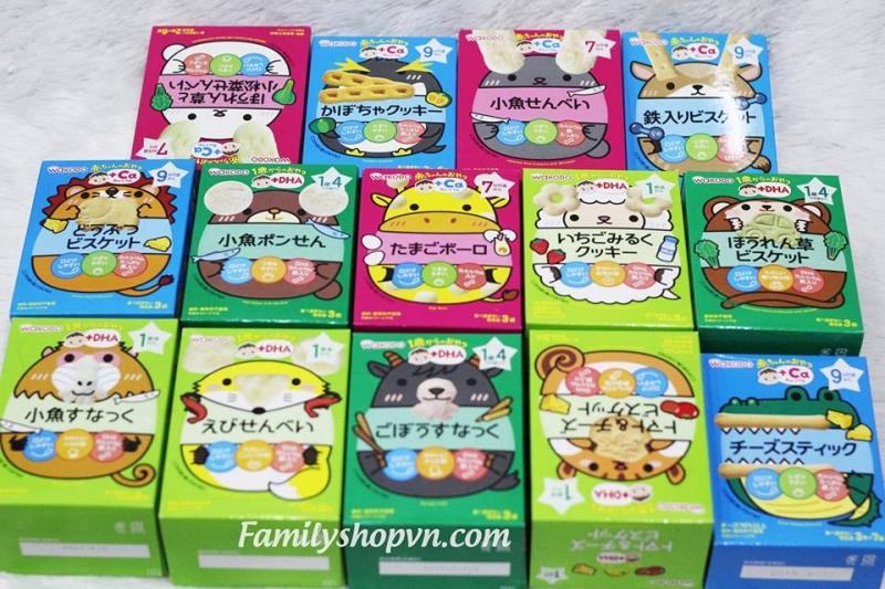 Familyshop là một trong những shop bán đồ ăn dặm Nhật tốt nhất cho trẻ