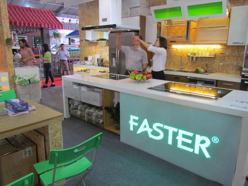 Faster có thiết kế hiện đại, được nhiều khách hàng tin dùng.