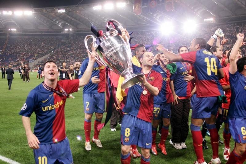 Barca của Pep vô địch C1 năm 2009