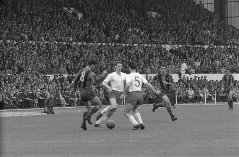 Barca vô địch UEFA Cup năm 1960