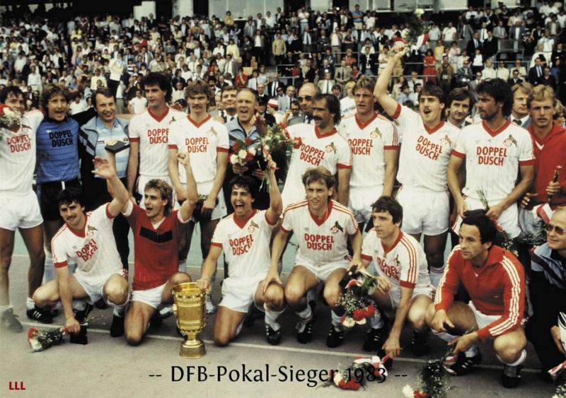 FC Köln  giành chiếc cúp vô địch năm 1983