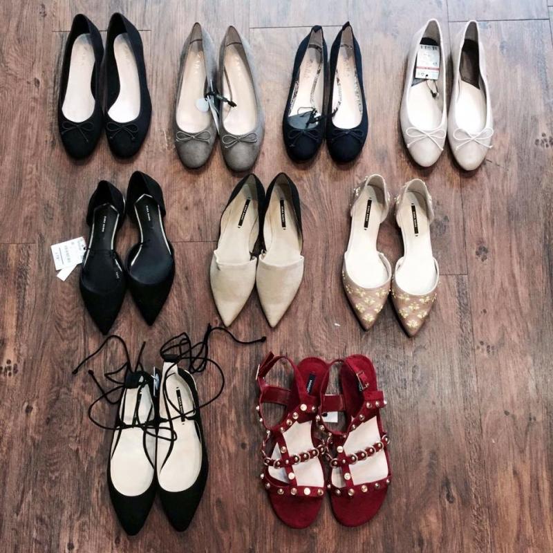 Tổng hợp một số giày bệt nữ được ưa chuộng tại shop