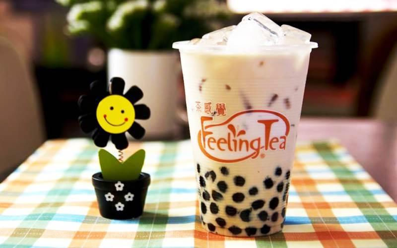 Chân dung một cốc Feeling Tea