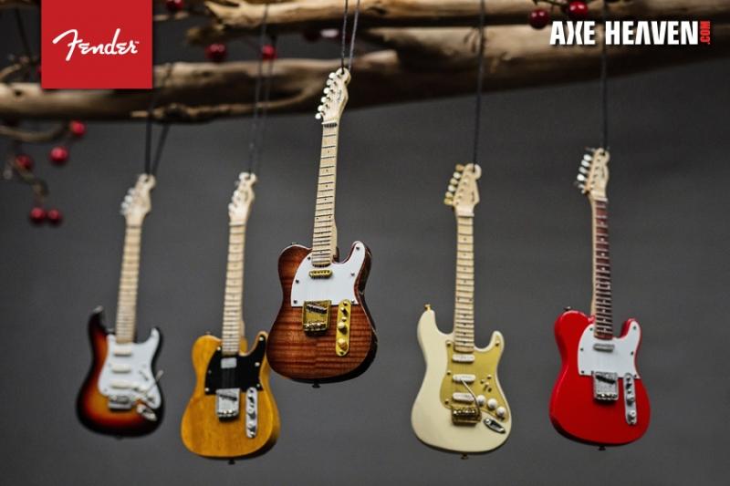 Những cây đàn ghi ta rất đẹp và phong cách của thương hiệu Fender