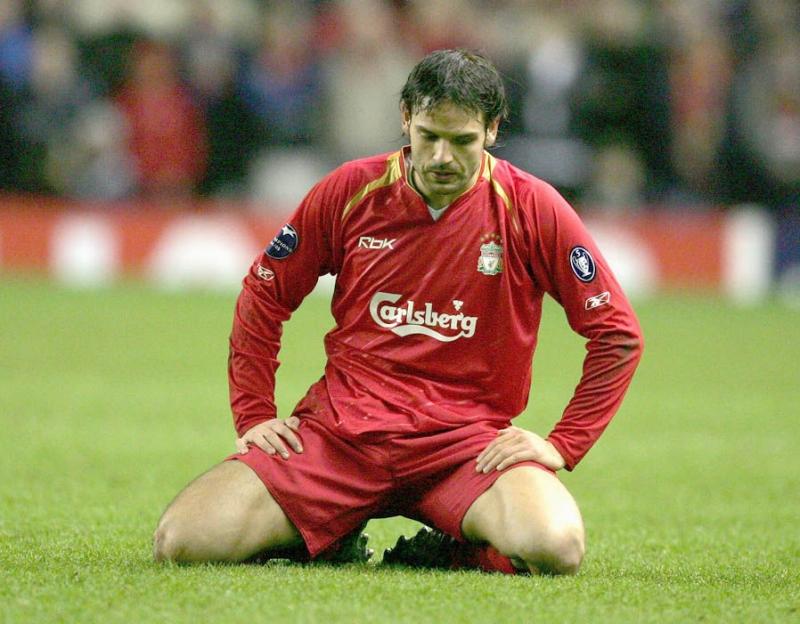 Fernando Morientes không chứng tỏ được nhiều khi chơi cho Liverpool