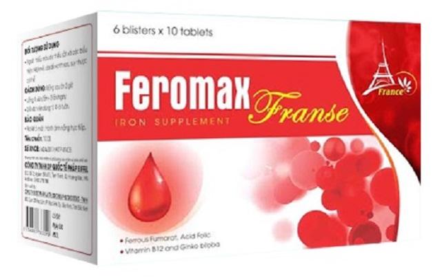 Feromax – Viên uống bổ máu bổ sung sắt, Vitamin và các khoáng chất