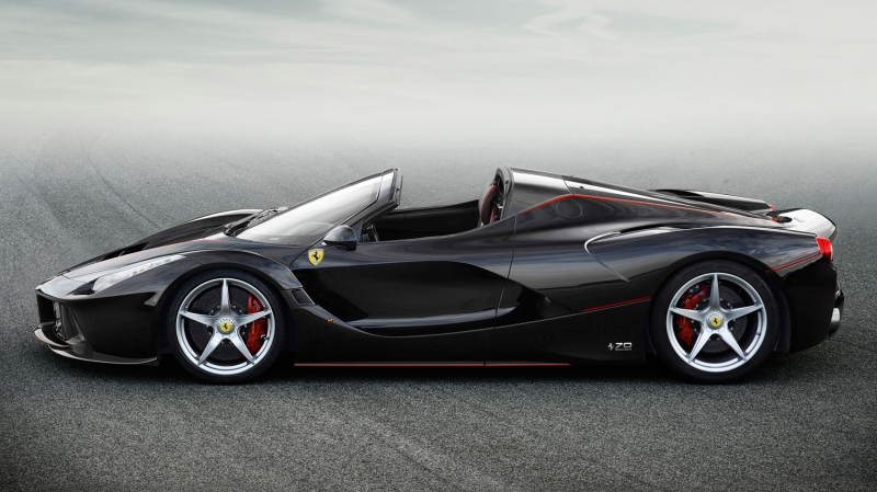 Ferrari LaFerrari Aperta mui trần