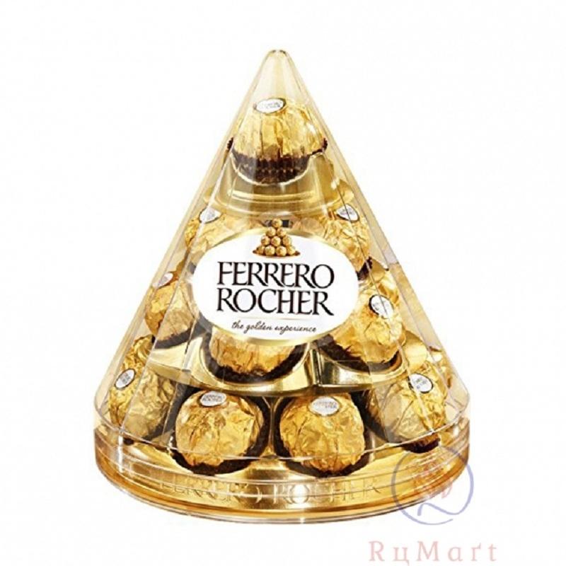 Socola hình tháp độc đáo của Ferrero Rocher với giá khoảng 450.000VND
