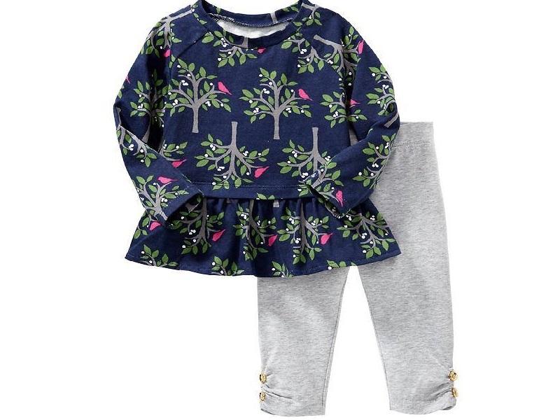 Bộ quần áo đáng yêu cho bé gái