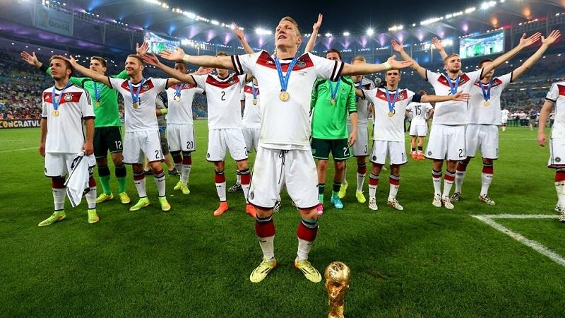 Đội hình Đức trong World Cup 2014.