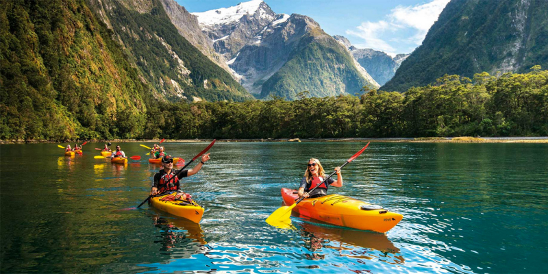 Vườn quốc gia Fiordland - New Zealand