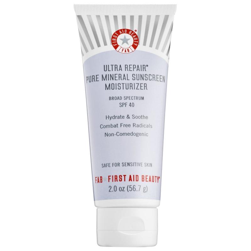 Ultra Repair Pure Mineral Sunscreen Moisturizer không chứa Paraben hay phẩm màu nên rất an toàn cho da nhạy cảm
